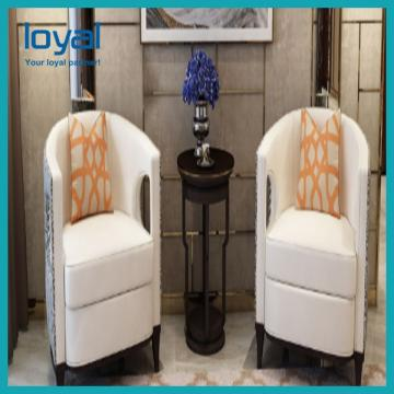 Fabric Sectional Lobby Seating Furniture Hotel Lobby Furniture With Coffee/Dining Table Sets