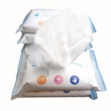 Logo customize 18x14cm Individually Wrapped Feminine Wipes