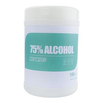 75% Alcohol Free Sanitizing Cleaning Alcohol Hand Antibacterial Disinfectant Wipes