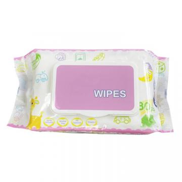 The Fine Quality Alochol Free Biodegradable Packing Custom Wet Tissue Wipes