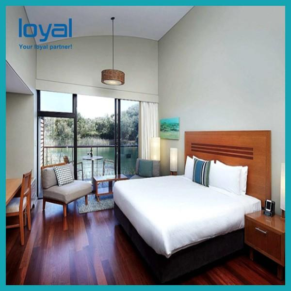 Economical Chain Cheap Bedroom Hotel Furniture For Suite / Beds For Apartments #3 image
