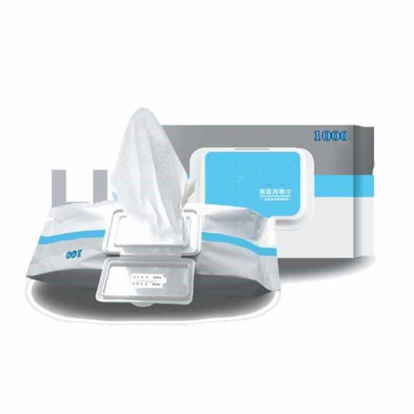 Wholesale in Stock 75% Alcohol Disinfectant Wet Wipes Hand Sanitizer Alcohol Disinfecting Wipes #1 image